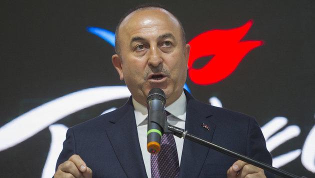 Der türkische Außenminister Cavusoglu (Bild: AFP)