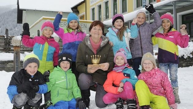 Die Initiative von Veronika Pfeifenberger bekam 2000 für ihren Einsatz die Goldene Krone. (Bild: Roland Holitzky)