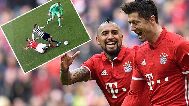 Mega-Grätsche von Hummels überstrahlt Bayern-Sieg (Bild: AP)