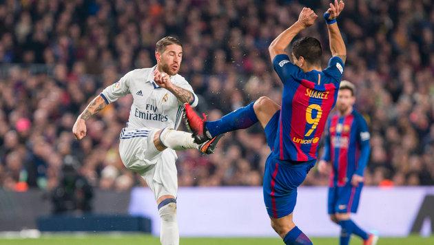 Testspiel zwischen Real und Barcelona in Miami (Bild: GEPA)
