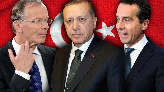 SPÖ uneins über Linie im Zwist mit Erdogan (Bild: APA/HANS KLAUS TECHT, AFP, thinkstockphotos.de)