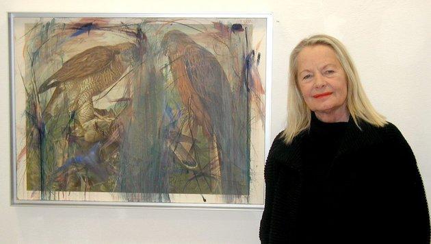 Gundi Lössl von der Galerie 422 in Gmunden. (Bild: unbekannt)