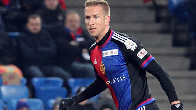 Marc Janko mit Basel im Cup-Finale (Bild: GEPA)