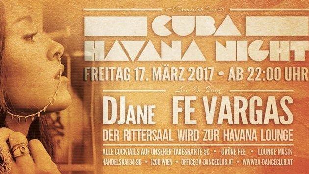 """Havana Night im A-Danceclub! (Bild: A Danceclub)"""