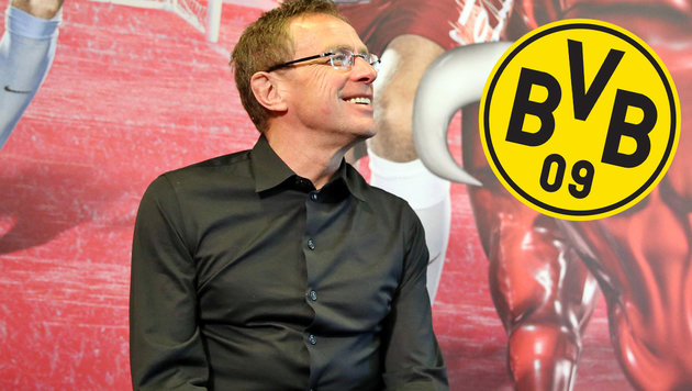 Leipzigs Ralf Rangnick teilt gegen Dortmund aus! (Bild: APA/dpa-Zentralbild/Jan Woitas)