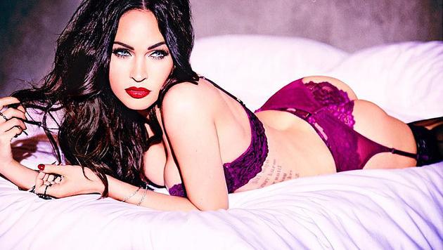 Megan Fox zeigt sich in sexy Dessous für die Kampagne von Frederick's of Hollywood. (Bild: instagram.com/the_native_tiger)