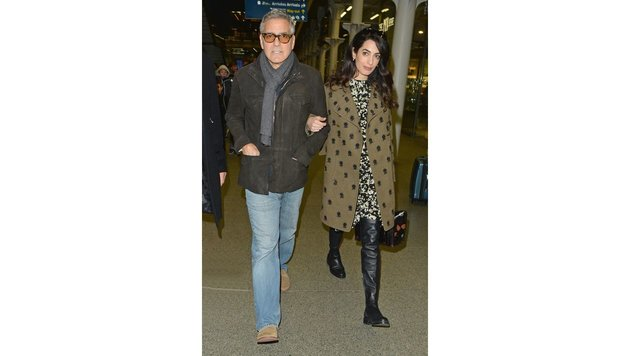 George und Amal Clooney (Bild: Matrix Media Group, face to face)