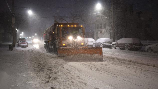 """Wintersturm """"Stella"""" legt Nordosten der USA lahm (Bild: AFP/Don Emmert)"""
