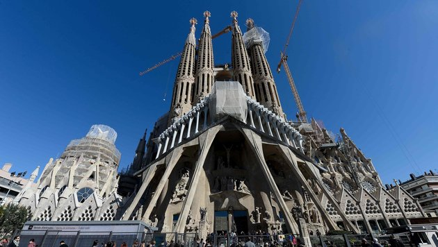 Antoni Gaudis Sagrada Familia ist für Barcelona-Fans Pflicht. (Bild: AFP or licensors)