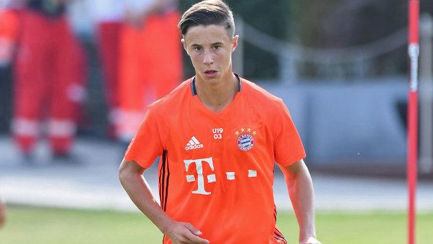 ÖFB-Youngster erhält Profivertrag bei den Bayern (Bild: GEPA)