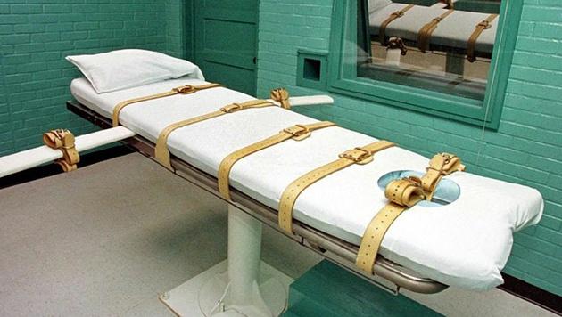 """""""Todeskammer"""" eines US-Staatsgefängnisses (Symbolbild) (Bild: APA/dpa/Jörg Dettmer)"""