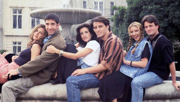 "Jennifer Aniston in der Serie ""Friends"" (Bild: CapitalPictures, face to face)"
