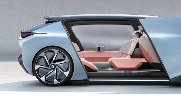 Nio EV mit 1360 PS: Who the f*** is Tesla? (Bild: Nio EV)