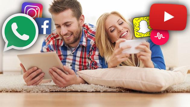 Die beliebtesten sozialen Netzwerke der Jugend (Bild: thinkstockphotos.de)