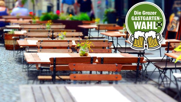 Gastgarten-Wahl: Wer hat den schönsten in Graz? (Bild: thinkstockphotos.de)