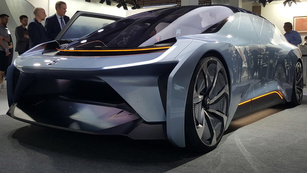 Nio EV mit 1360 PS: Who the f*** is Tesla? (Bild: ampnet/Jens Meiners)