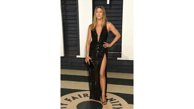 Jennifer Aniston auf der Vanity Fair Oscar Party 2017 (Bild: AdMedia, face to face)