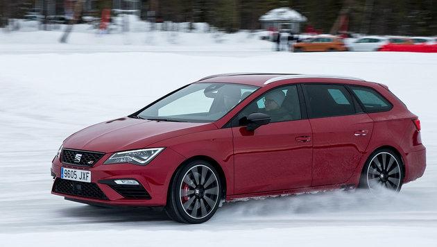 Seat Leon Cupra: Perfekt für finnisch Vollgas? (Bild: Seat)