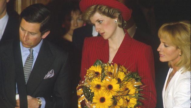 Prinz Charles und Lady Diana auf Besuch in Wien (Bild: Viennareport)