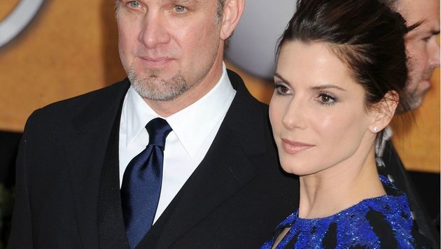 Jesse James und Sandra Bullock (Bild: Jeffrey Mayer/face to face)