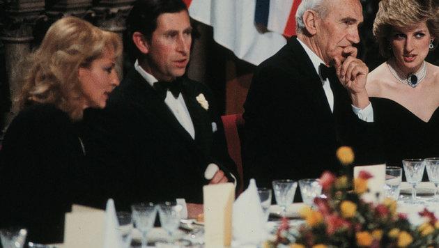 Prinz Charles und Lady Diana auf Besuch in Wien (Bild: Leopold Nekula / VIENNAREPORT)