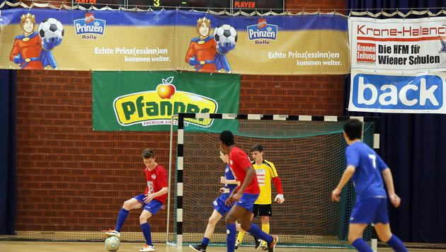 Vom Hallencup ins Prinzen Rolle-Fußball Camp! (Bild: ©Pepo Schuster, austrofocus.at)