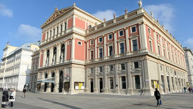 Der Wiener Musikverein (Bild: APA/ROLAND SCHLAGER)
