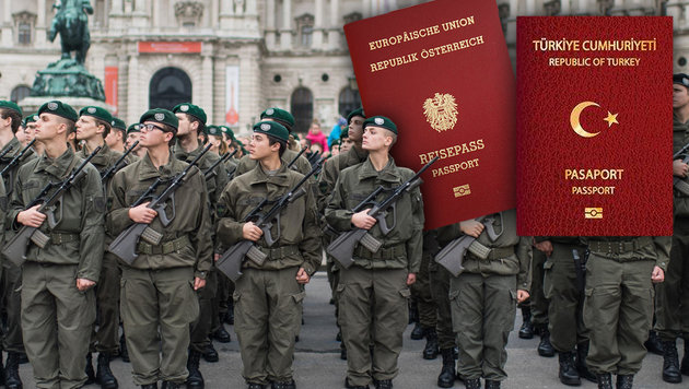 Doppelstaatsbürger: Zig Verdachtsfälle beim Heer (Bild: EXPA/Michael Gruber)