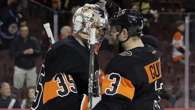 Flyers mit Kantersieg gegen Meister Pittsburgh (Bild: AP)