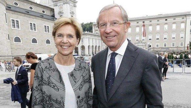 Brigitta Pallauf, Wilfried Haslauer (beide ÖVP) kämpften in Brüssel und Wien gegen die Verschärfung. (Bild: Markus Tschepp)