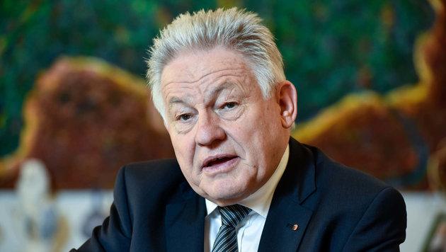Pühringer will â01Enicht von der Fraktion der Bessermacher in die der Besserwisser wechselnâ01C. (Bild: Markus Wenzel)