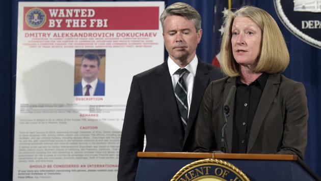 Russen wegen Hackerattacken auf Yahoo angeklagt (Bild: AP)
