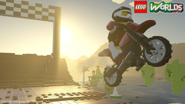 """LEGO Worlds"": ""Minecraft""-Rivale am Prüfstand (Bild: Warner Bros. Interactive)"