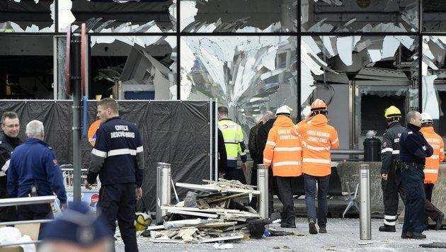 Bei den Anschlägen von Brüssel wurden im März 2016 32 Menschen getötet. (Bild: AFP)