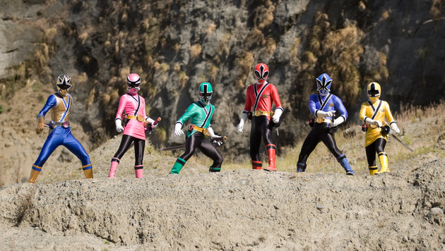 """Power Rangers Samurai"" (Bild: CapFSD/face to face)"