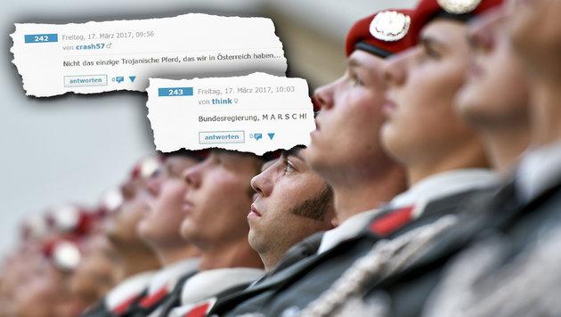 "Aufregung um ""Erdogans Soldaten"" beim Bundesheer (Bild: APA/Herbert Neubauer)"