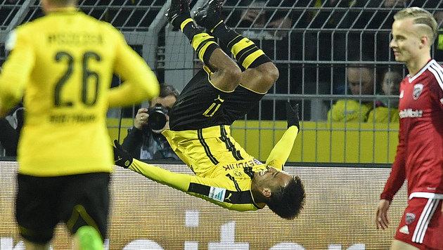 Dortmund müht sich gegen Ingolstadt zu 1:0-Sieg (Bild: AP)