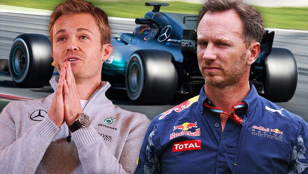 """""""Echte Schande!"""" Horner über Rücktritt von Rosberg (Bild: GEPA)"""