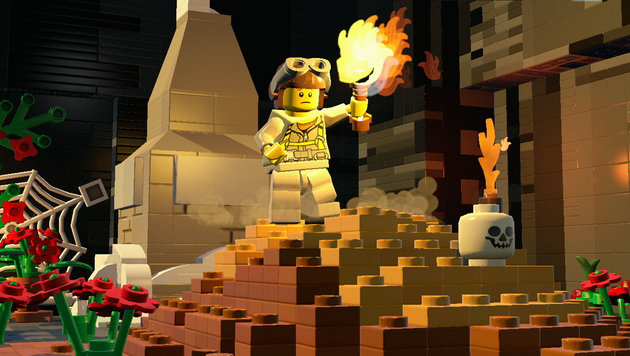 """""""LEGO Worlds"""": """"Minecraft""""-Rivale am Prüfstand (Bild: Warner Bros. Interactive)"""