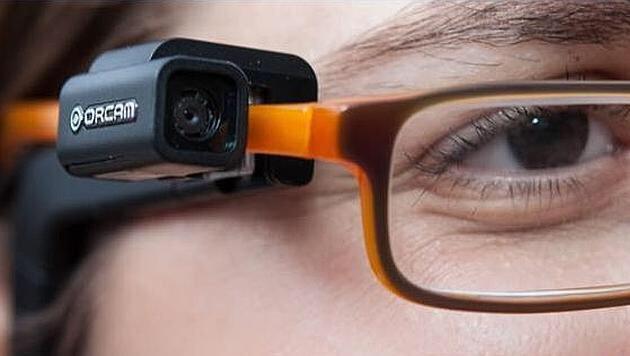 Orcam: Vorlese-Brille für Menschen mit Sehschwäche (Bild: twitter.com)