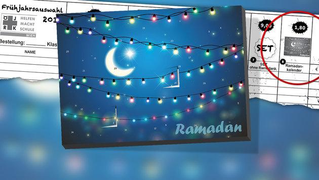 Wien: Ramadan-Kalender an Schulen sorgt für Wirbel (Bild: Jugendrotkreuz.at)