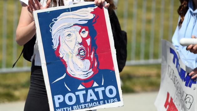 In den USA organisiert sich nun der Widerstand (Bild: AFP)