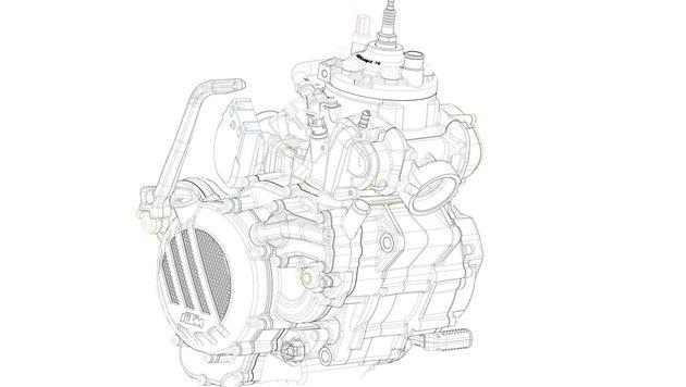 KTM entwickelt Zweitakter mit Benzin-Einspritzung (Bild: KTM)