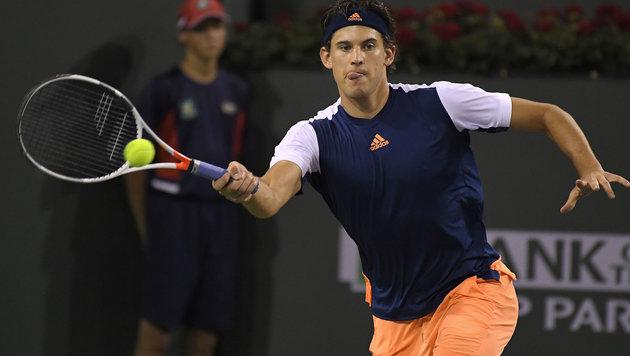 Thiem macht Platz gut - Federer schon wieder 6. (Bild: AP)