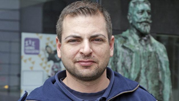 AUF-Gewerkschafter Gottfried Hanna erstattete nach der Würgeattacke Anzeige. (Bild: Klemens Groh)
