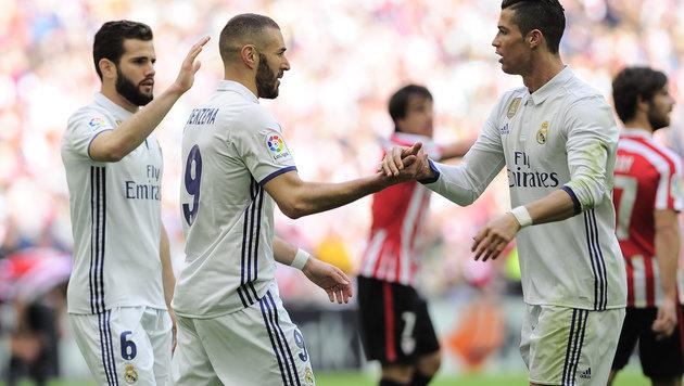 Real entscheidet auch Spiel in Bilbao für sich (Bild: AFP)