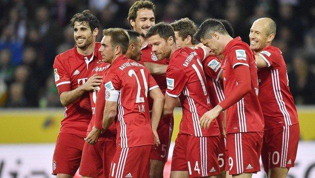 """1:0! Für Bayern wird""""s an der Spitze einsam (Bild: AP)"""