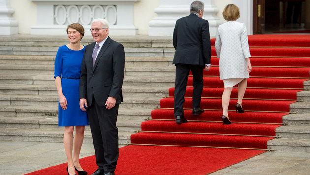 Martin Schulz mit 100 Prozent zum SPD-Chef gewählt (Bild: APA/dpa/Gregor Fischer)