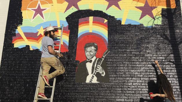 Rock-'n'-Roll-Legende Chuck Berry gestorben (Bild: AP)