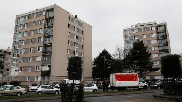 Der Vorort Garges-lès-Gonesse, wo der Orly-Angreifer lebte (Bild: AFP)